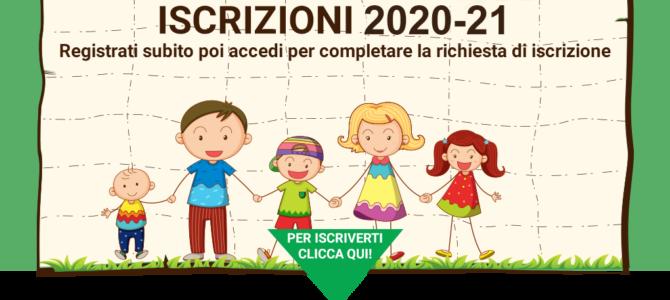 ISCRIZIONI ANNO 2020-2021
